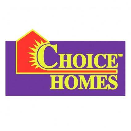 Choice homes