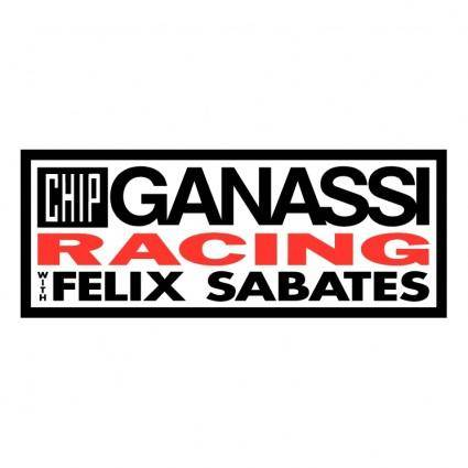 Chip ganassi racing with felix sabates