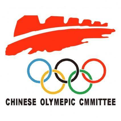 free vector Chinese olymepic cmmittee