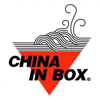 free vector China in box