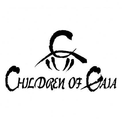 free vector Children of gaia