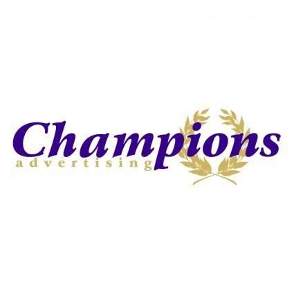 Champions advertising 0