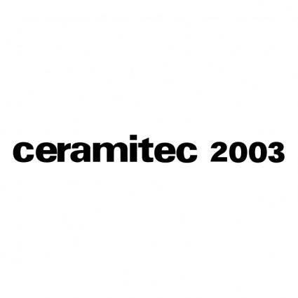 Ceramitec 2003 0