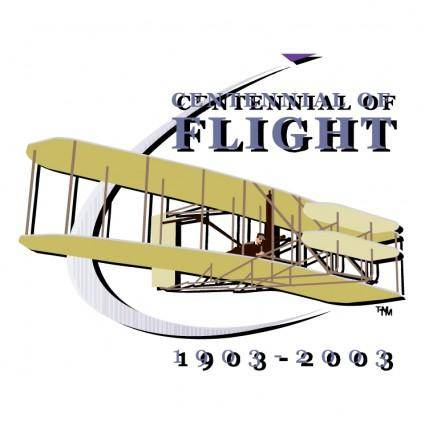 free vector Centennial of flight 1903 2003