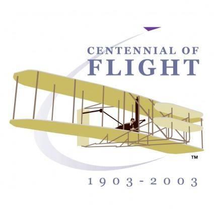 free vector Centennial of flight 1903 2003 0