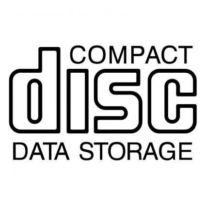 free vector Cd data storage