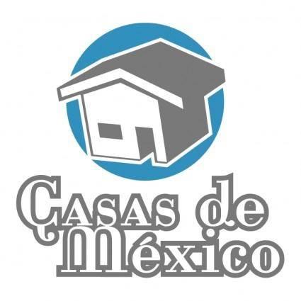 free vector Casas de mexico