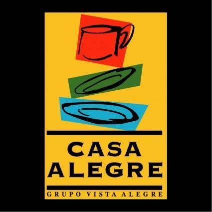 free vector Casa alegre