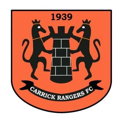 free vector Carrick rangers fc