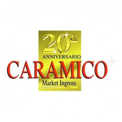 free vector Caramico 20 anniversario