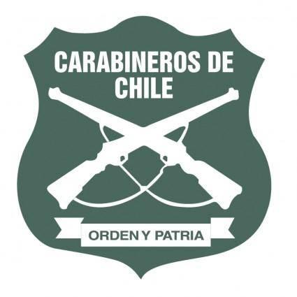free vector Carabineros de chile
