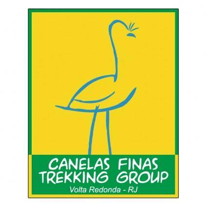 free vector Canelas finas trekking group