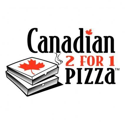 Canadian 2 for 1 pizza 0