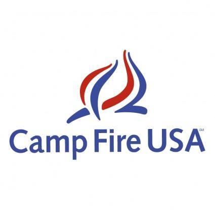 free vector Campfire usa