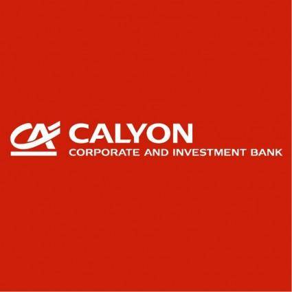 free vector Calyon corporate and investment bank