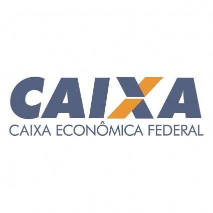 free vector Caixa economica federal 0