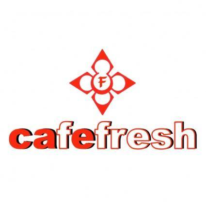 free vector Cafe fresh
