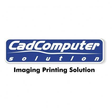 Cadcomputer solution