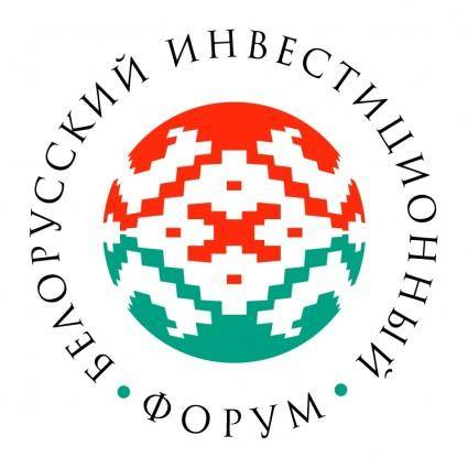 free vector Byelorussian investment forum