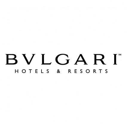free vector Bvlgari hotels resorts