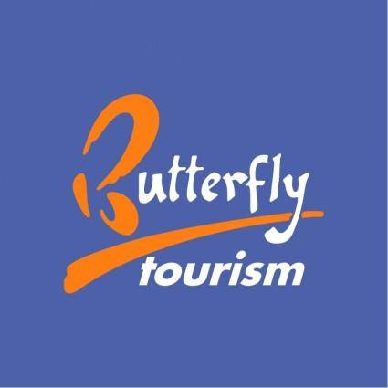 free vector Butterfly tourism