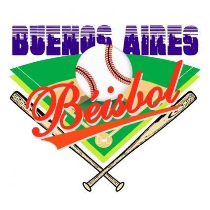 free vector Buenos aires beisbol club