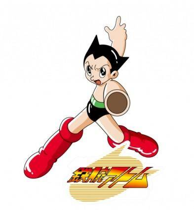 Astro boy vector 01