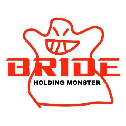 free vector Bride holding monster 0