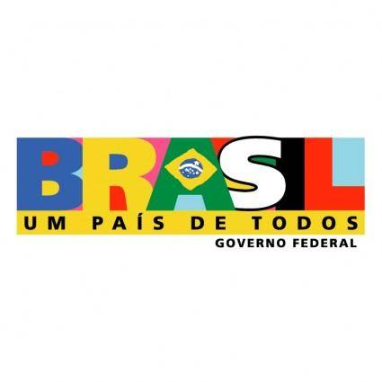 free vector Brasil governo federal