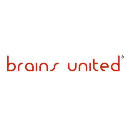 free vector Brains united
