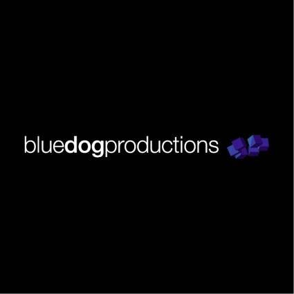 free vector Blue dog productions
