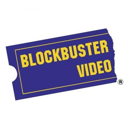 free vector Blockbuster video 0