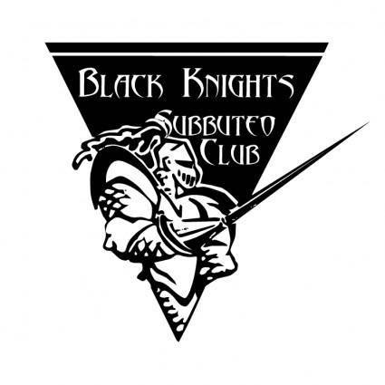 free vector Black knights subbuteo club