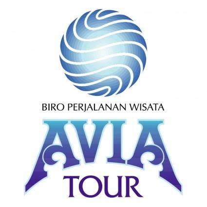 free vector Biro perjalanan wisata aviatour