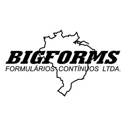 free vector Bigforms formularios continuos