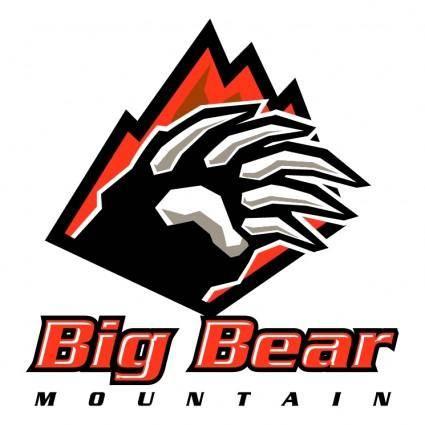 free vector Big bear mountain 1