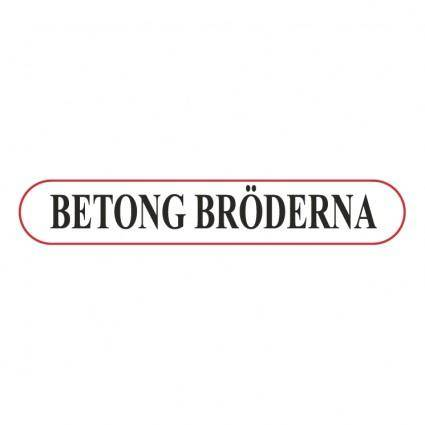 free vector Betong broderna