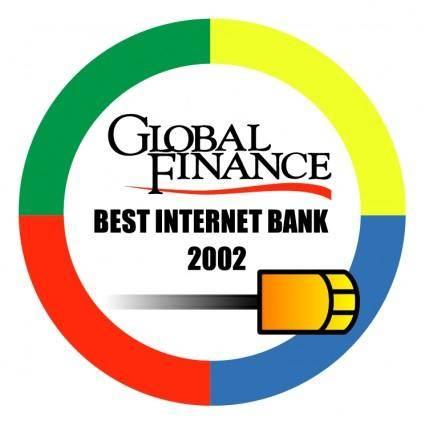 free vector Best internet bank 2002
