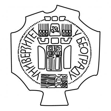 free vector Belgrade university
