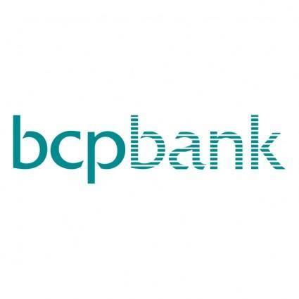 free vector Bcp bank