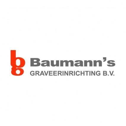 free vector Baumanns graveerinrichting bv