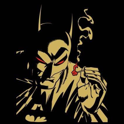 free vector Batman 8