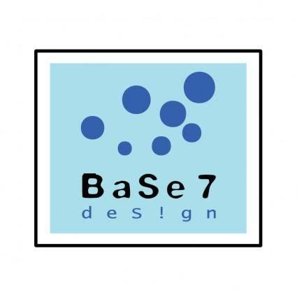 free vector Base 7 design