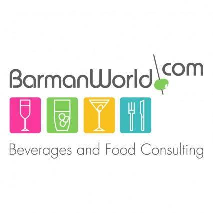 free vector Barman world