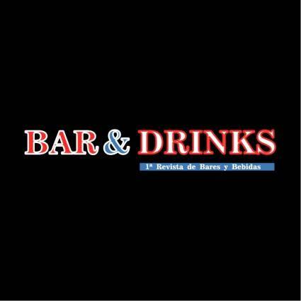 free vector Bar drinks