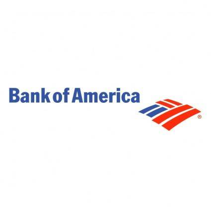 free vector Bank of america 2