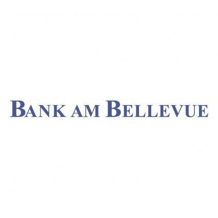 Bank am bellevue