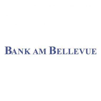 free vector Bank am bellevue