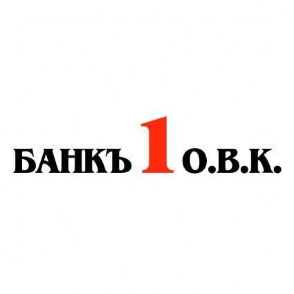 free vector Bank 1 ovk