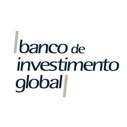 free vector Banco de investimento global
